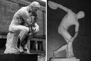 The Thinker and Discobolus