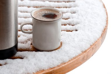 snow-coffee