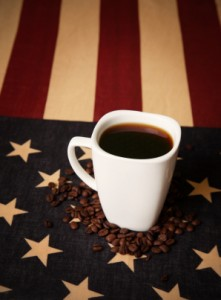 cup-of-coffee-and-american-flag