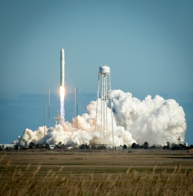 Antares Rocket Test Launch