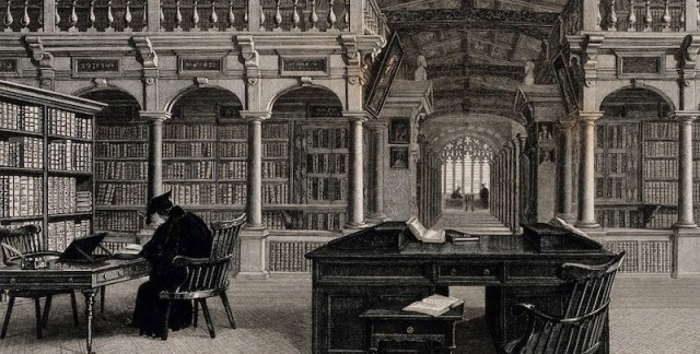 Bodleian_Library_Oxford_interior_showing_study_desks._Line_Wellcome_V0014204.jpg