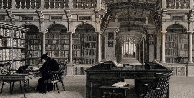 Bodleian_Library_Oxford_interior_showing_study_desks._Line_Wellcome_V0014204.jpg